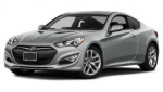 Hyundai Genesis Coupe rims and wheels photo