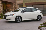 Nissan LEAF rims and wheels photo