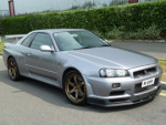 Nissan R31-R34 Skyline 2dr rims and wheels photo